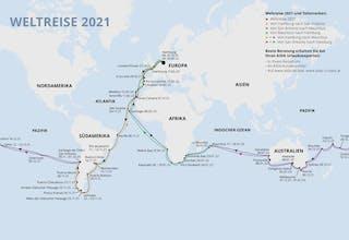 Von Hamburg nach Mauritius