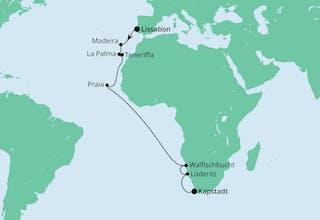 Von Lissabon nach Kapstadt